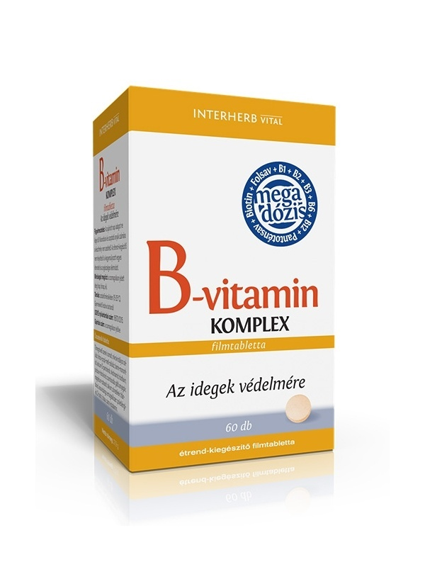 Interherb Vital B Complex Film Coated Tablets